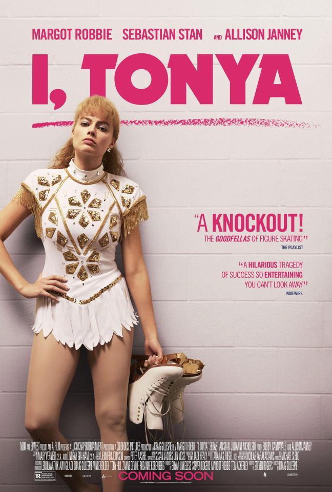 Win a copy of I, Tonya on DVD