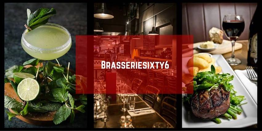 Win dinner for 2 each month - Brasserie Sixty6 Dublin