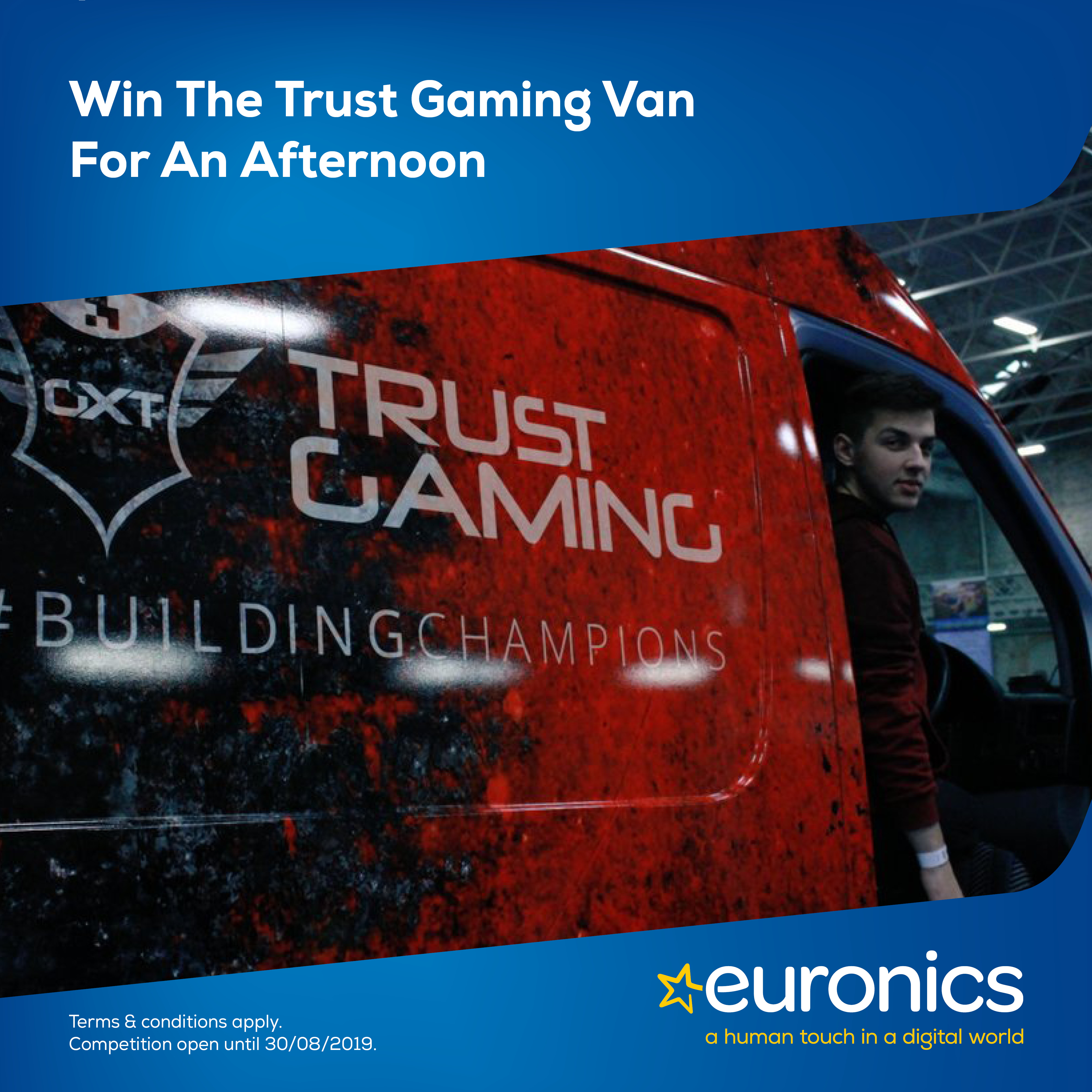 Win a Visit from The Trust Gaming Van