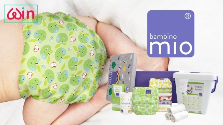 Win a Reusable Nappy Starter Set From Bambino Mio worth €205