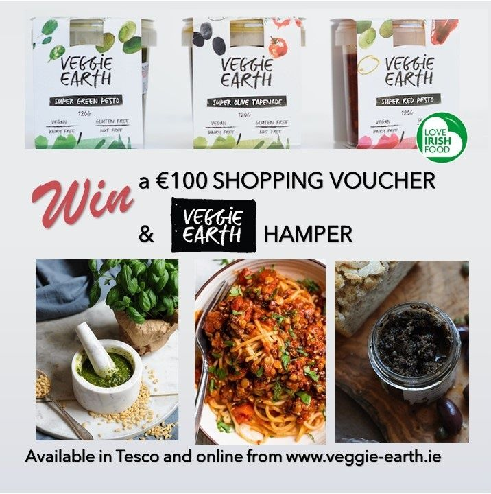 Win a Veggie Earth Hamper and €100 Shopping Voucher