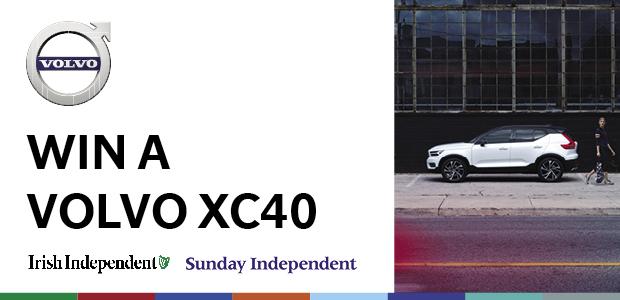 Win a Volvo XC40