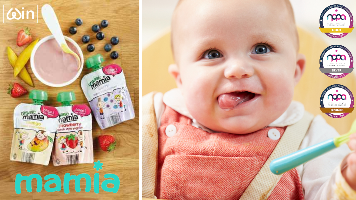 Win €80 Shopping Voucher to Spend on your Weaning Baby