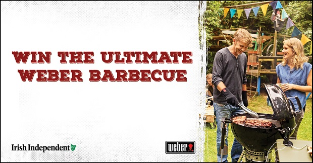 Win the ultimate Weber Barbecue