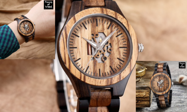 Win Pieces of Wood Watch