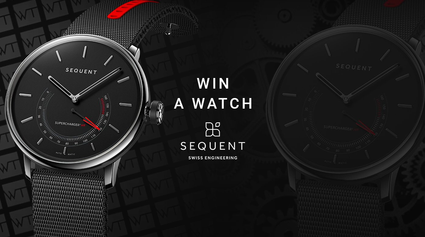 Win a SEQUENT watch
