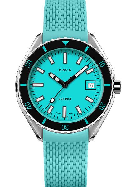 Win a Doxa SUB 200 Turquoise Aquamarine